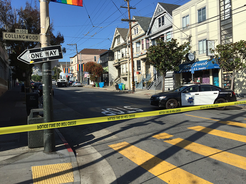 San Francisco police officer, suspect injured in shooting