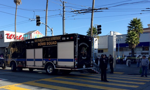 Suspicious package shuts down 16th and Mission, proves not hazardous