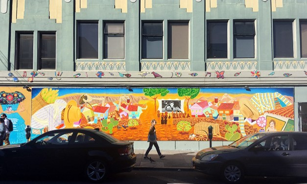 Wonderful new mural on 21st and Mission streets