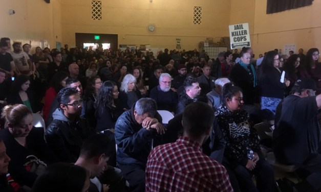 Community clashes with SFPD at Town Hall on officer-involved shooting
