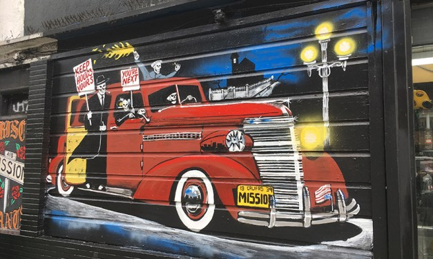 Snap: New mural at 18th and Mission