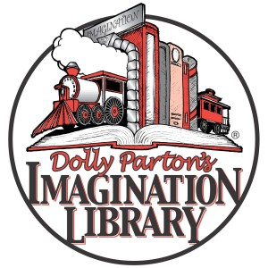 Dolly Parton's Imagination Library Train Logo