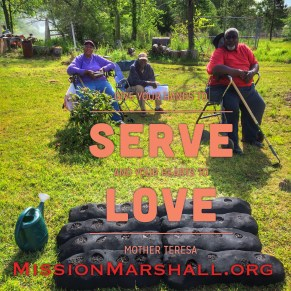 Love Where You Live - Mission Marshall - Family Garden Initiative - Family Served