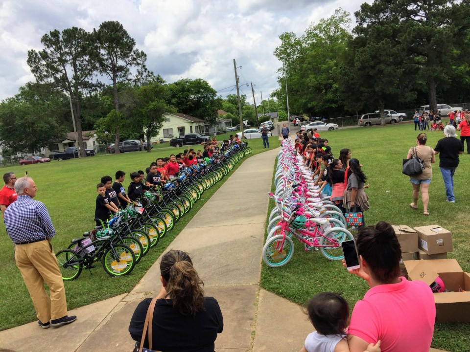 Read to Ride - Mission Marshall - South Marshall Elementary STEM Academy