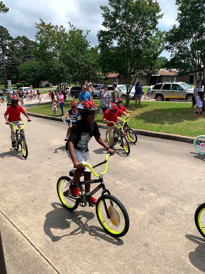 Read to Ride 2019 - Sam Houston Elementary