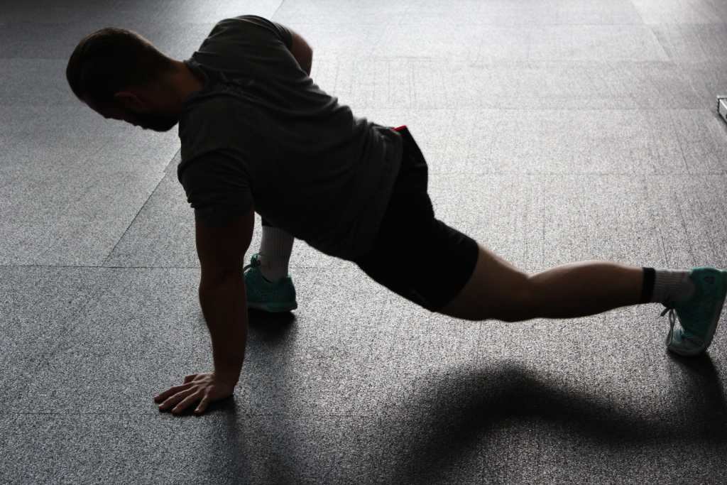 Mobility workout, stretching exercise