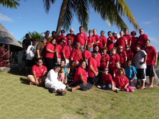 2008 Samoa Mission Team