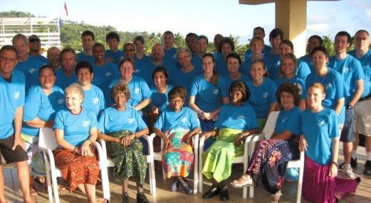2010 Samoa Mission Team