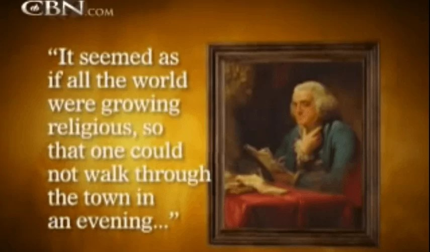 America's First Great Awakening – CBN.com (5 minute video)
