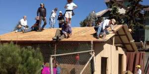 International Project. Building house. Project Corazon Mexico