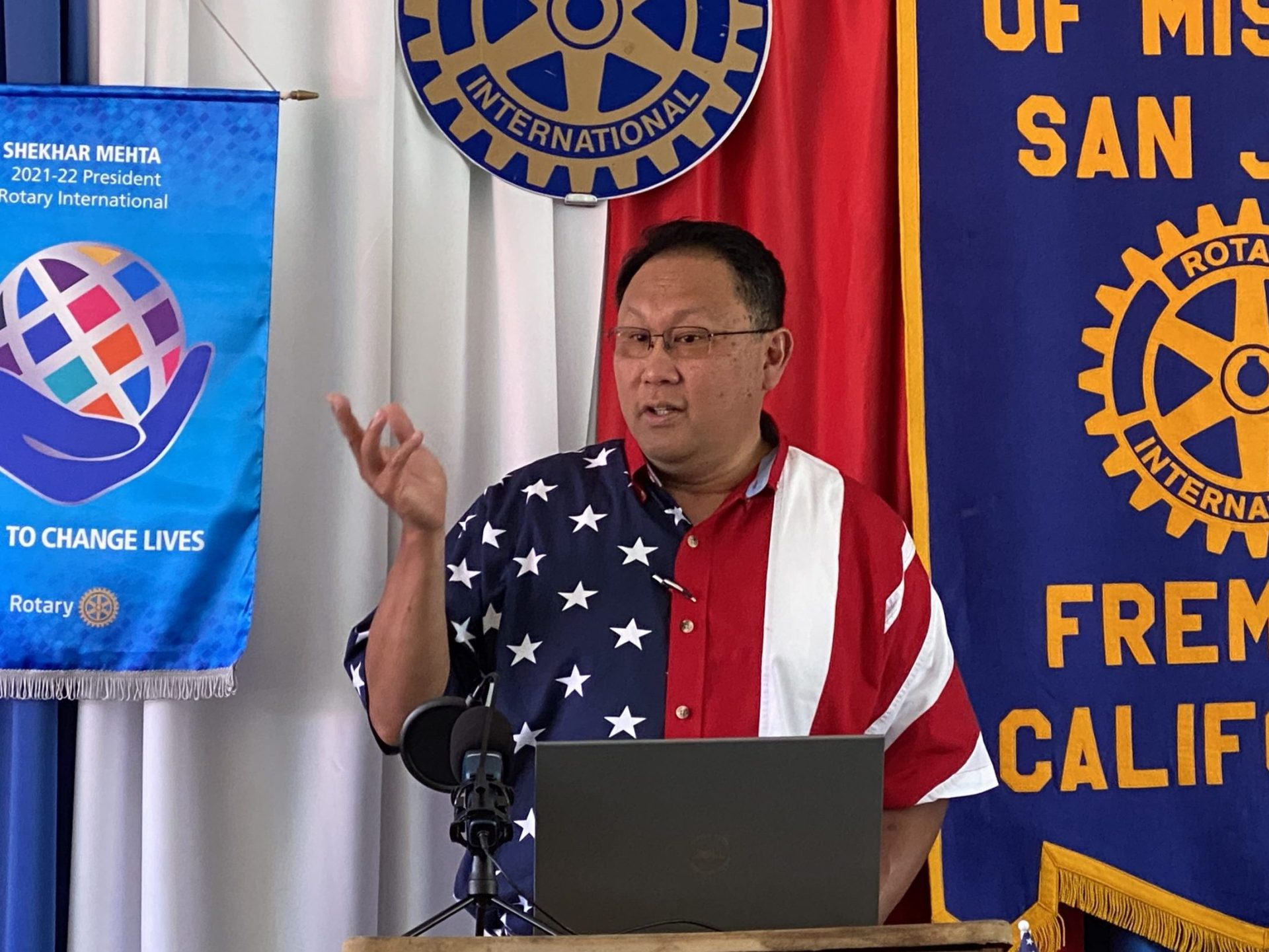 July 4th Meeting 2021 - President Mike