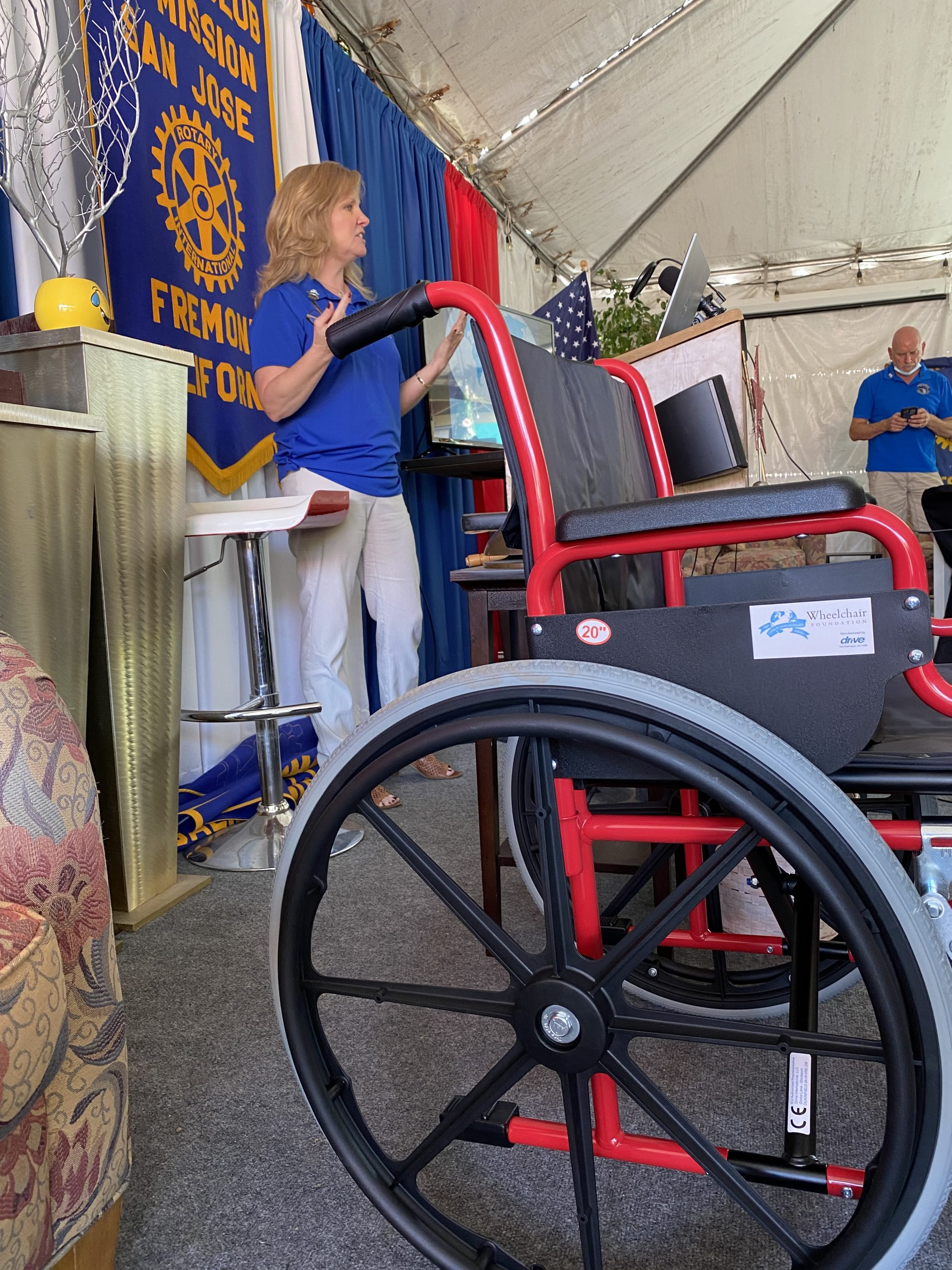 Wheelchair Foundation Fundraiser