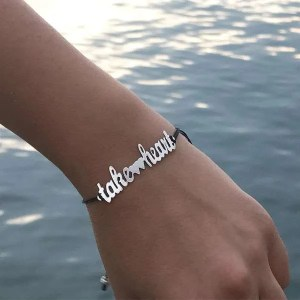 Take-Heart-Bracelet-Black-Chain
