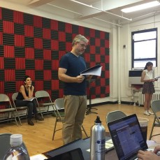 Rehearsal for DUCK by Jonathan Alexandratos
