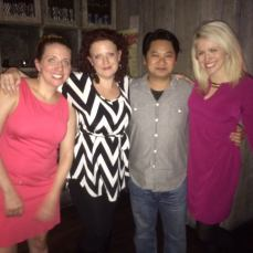 Co-founders (L-R): Meredith Packer, Kari-Bentley-Quinn, Don Nguyen, and Laura Pestronk