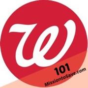 Walgreens 101
