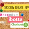 Grocery Rebate Apps for big savings!