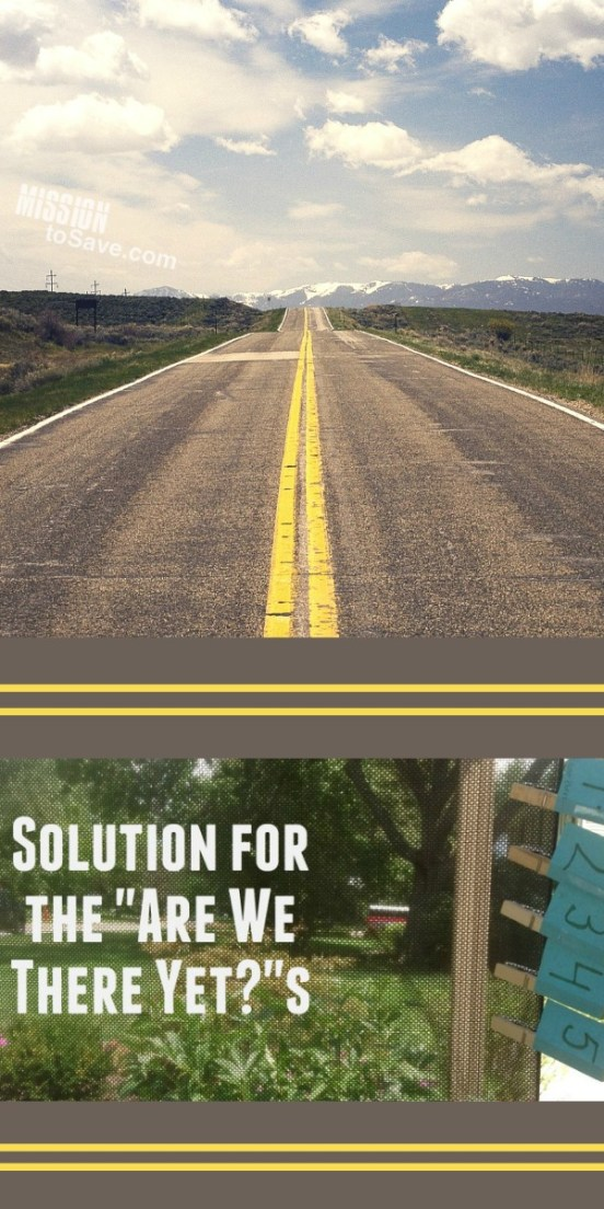 road and solution to are we there yet question text