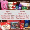 My Dollar Tree Trips! 62% and 70% Savings!