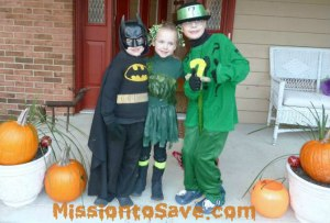 Halloween Costumes- Batman Theme