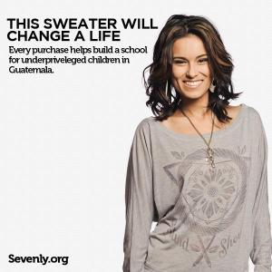 Sevenly Stand Shout Shirt for Pencils of Promise