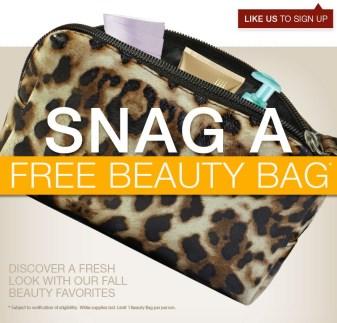 """Free Target Beauty Bag"""