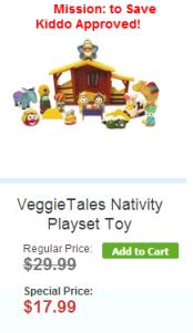 VeggieTales Nativity
