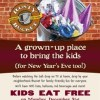 Celebrate New Years Eve at The Rusty Bucket Kids Eat Free!
