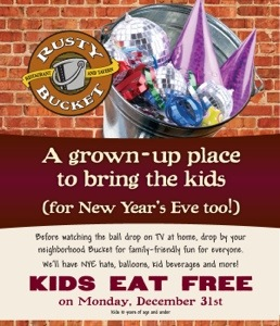 Rusty Bucket Kids Eat Free
