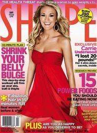 Shape magazine subscription