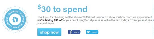 LivingSocial Credit