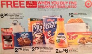 target gift card deal on eggo