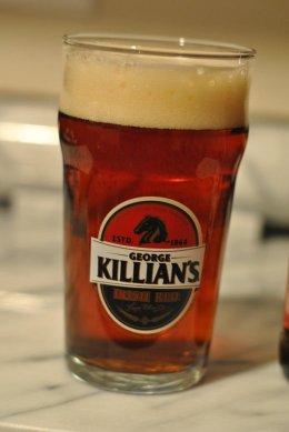 george killian beer glasses