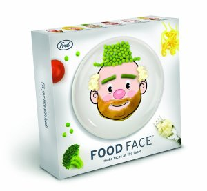 fred and freinds food face plate