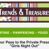 Trends & Treasures Consignment Sale- Girls Night Out Private Shopping Pass