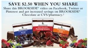 Free Brookside Chocolate