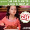 Buca di Beppo Kids Eat Free for Lunch on 4/25