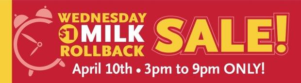 whole foods $1 Gallon of Milk