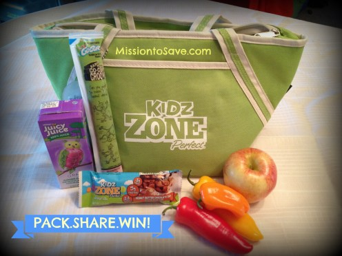 Kidz ZonePerfect Pack Share Win Contest- New Kidz ZonePerfect bars are not only nutritious and delicious- they help break the PB&J cycle.