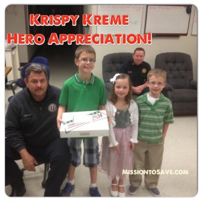 krispy kreme hero appreciation