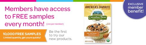 Free Cascadian Farms Cereal