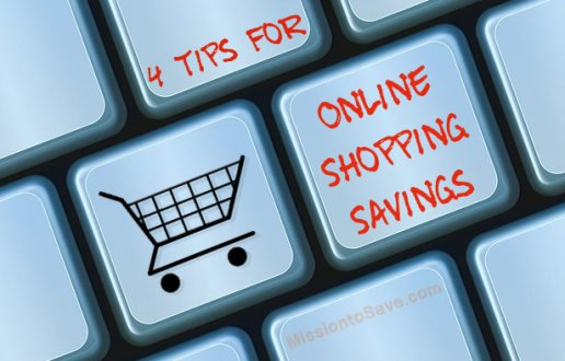 4 Tips for Online Shopping Savings on MissiontoSave.com