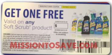 Win Free Soft Scrub Coupons from MissiontoSave.com