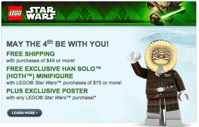 Lego Star Wars Freebies