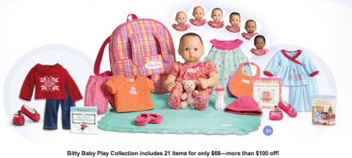 american girl bitty baby deal
