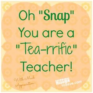 tea-rrific teacher printable tags