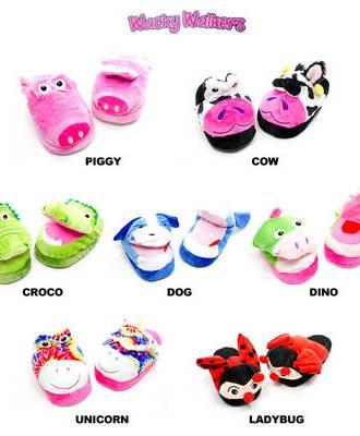wacky walkers slippers