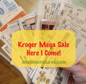 use coupons to stockpile on Mega Sale items