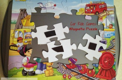car ride games magnetic puzzle