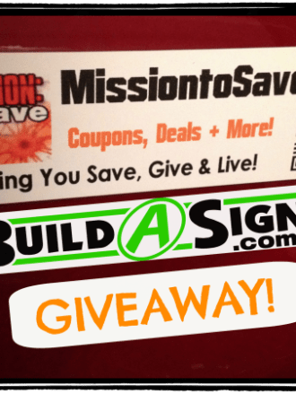 build a sign giveaway